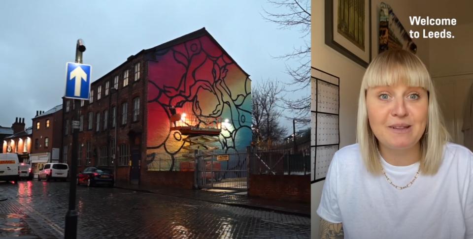 Tina Ziegler on Street Art in Leeds